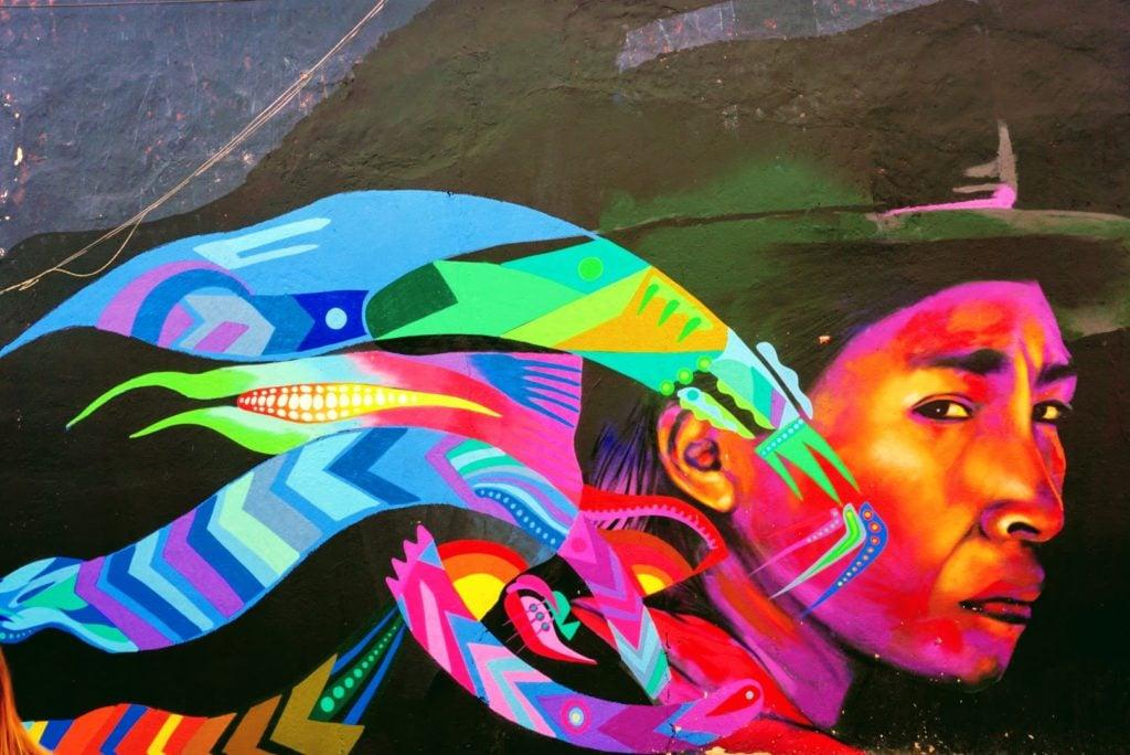 Moving to Bogota, Colombia | Street Art Mural in La Candelaria