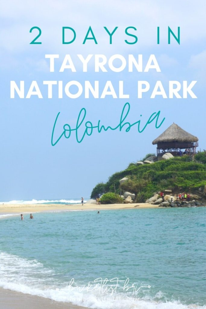 2 Days in Tayrona National Park Colombia