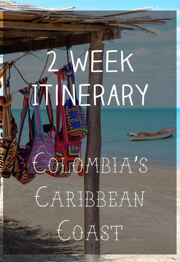 2 Week Itinerary Colombia's Carribean Coast | Bucketlist Bri