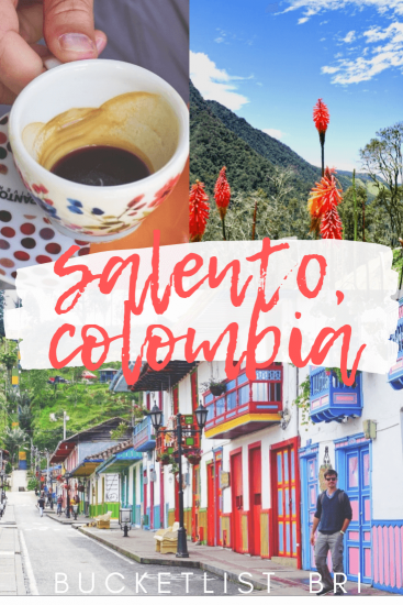 Exploring the colorful pueblo of Salento, Colombia in the heart of Colombia's coffee country, Zona Cafetera. 3 day itinerary on what to do and see in Salento! BUCKETLIST BRI // #colombia #salento #coffeecountry #viajar