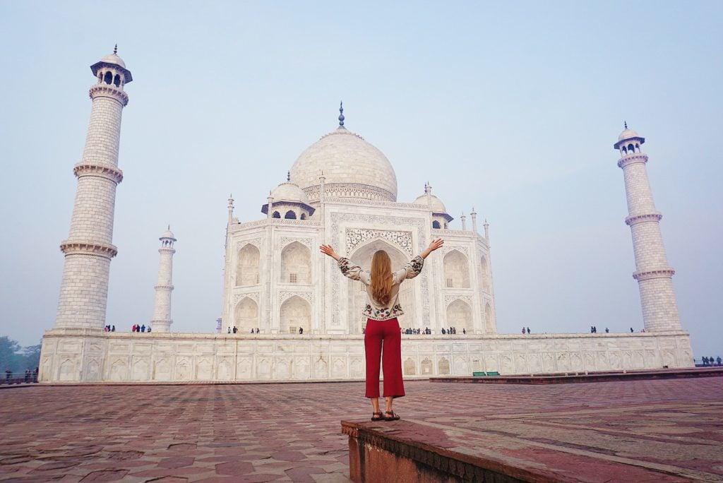 2 Days in Agra, India + Story Guide to Taj Mahal | Bits of Bri