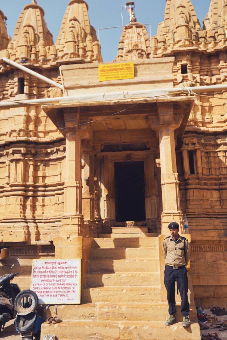 Jain Temples Jaisalmer India