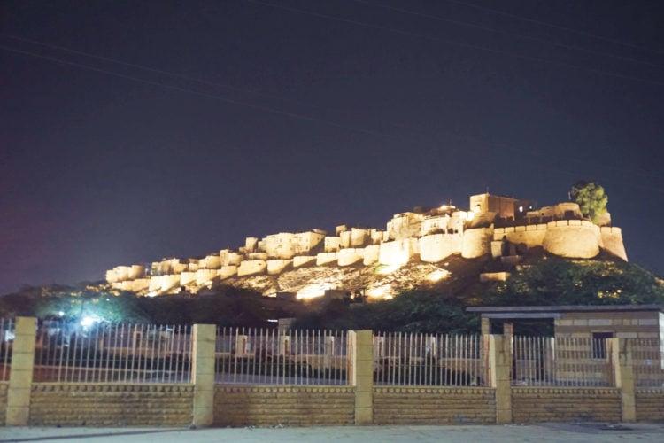 Jaisalmer, India at Night
