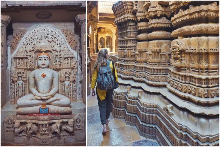 Jain Temples in Jaisalmer, India