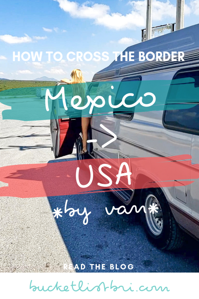 Complete guide: How to drive from Puerto Vallarta, Mexico and cross the border at Laredo, Texas, USA. Toll prices, gas, rest stops, plus how to buy a US-plated car from Mexico and drive back to the USA. #roadtrip #vanlife #travel #mexico #usa