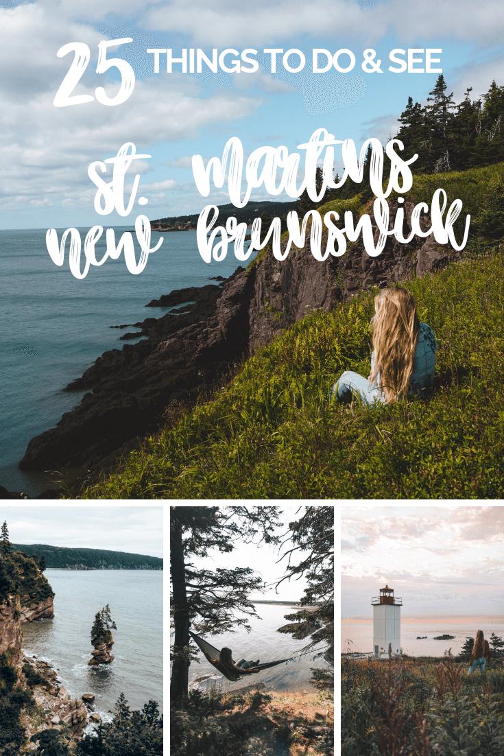 25 Things To Do in St Martins, New Brunswick #Canada #outdoors #adventure #travel // Bucketlist Bri www.bucketlistbri.com