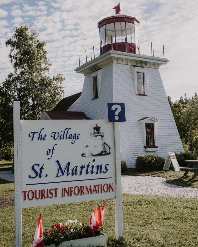 st. martins village tourist information center