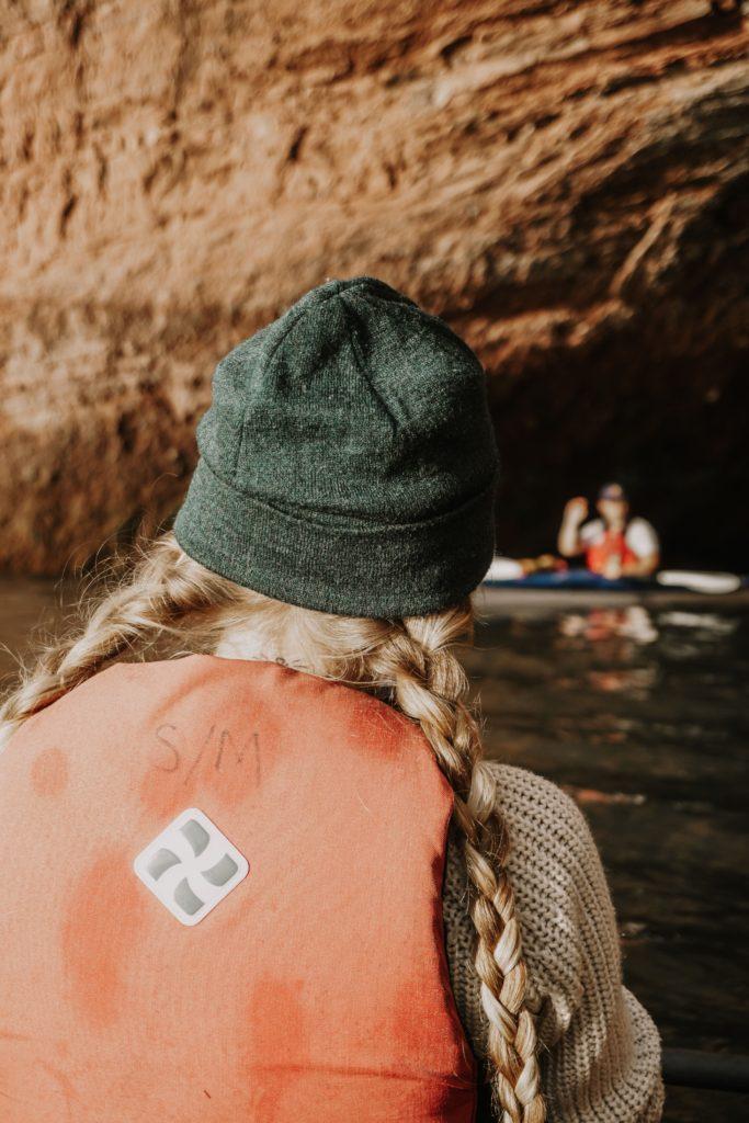 Sea Kayaking with Red Rock Adventure in the Bay of Fundy, St. Martins, New Brunswick #Canada #outdoors #adventure #travel // BUCKETLIST BRI www.bucketlistbri.com
