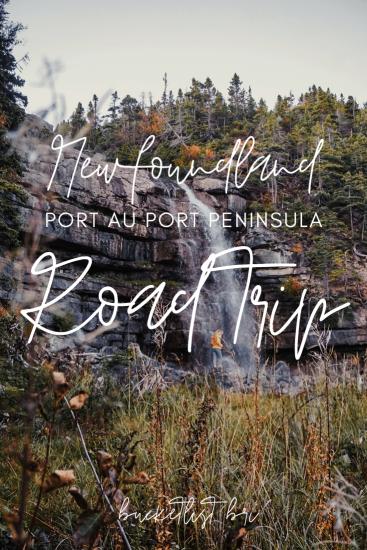 Road Tripping the Port au Port Peninsula and Boutte du Cap St. George in Western Newfoundland and Labrador #newfoundland #roadtrip #adventure #travel // www.bucketlistbri.com