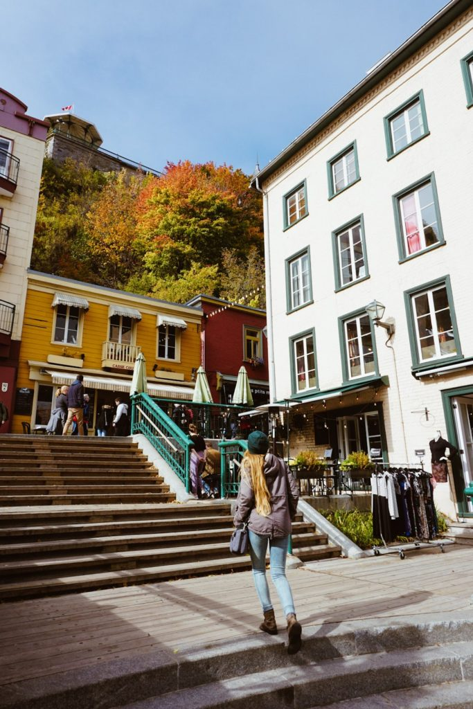 Vieux Quebec, Quebec City // Van Life Journal Weeks 7-9 // Bucketlist Bri www.bucketlistbri.com #quebec #vieuxquebec #canada #travelblog