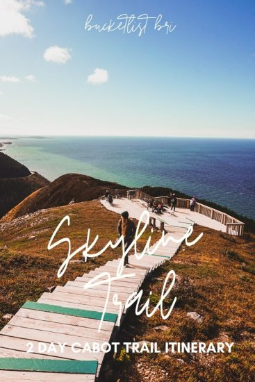Skyline Trail on The Cabot Trail
