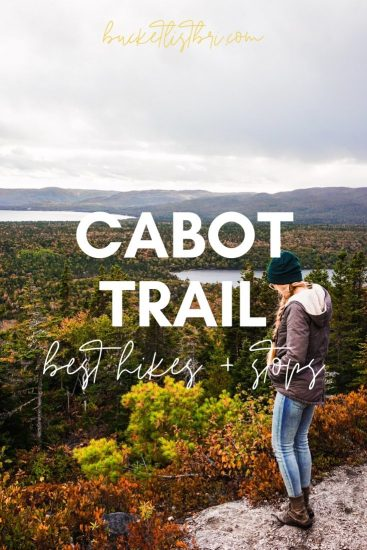 Cabot Trail Hikes and Best Stops