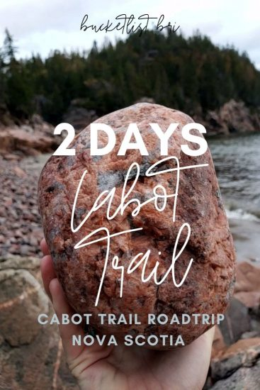 2 Day Cabot Trail Itinerary
