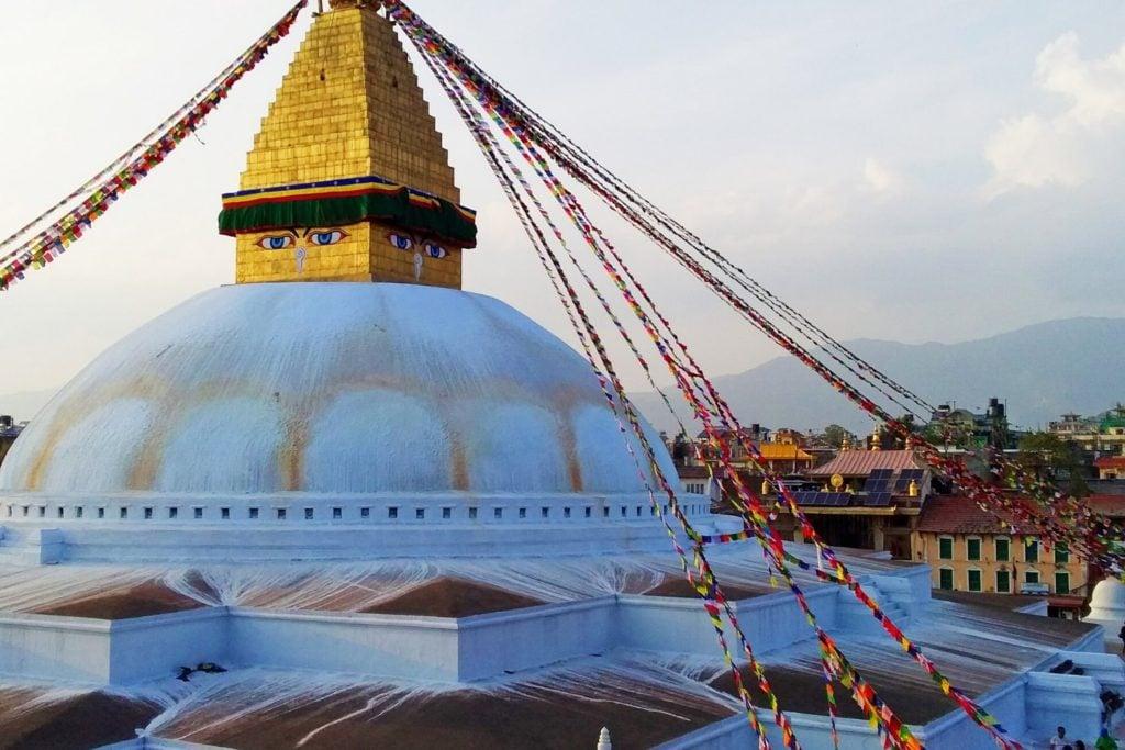 Things to do in Kathmandu Bucket List : Visit Bouddha Stupa