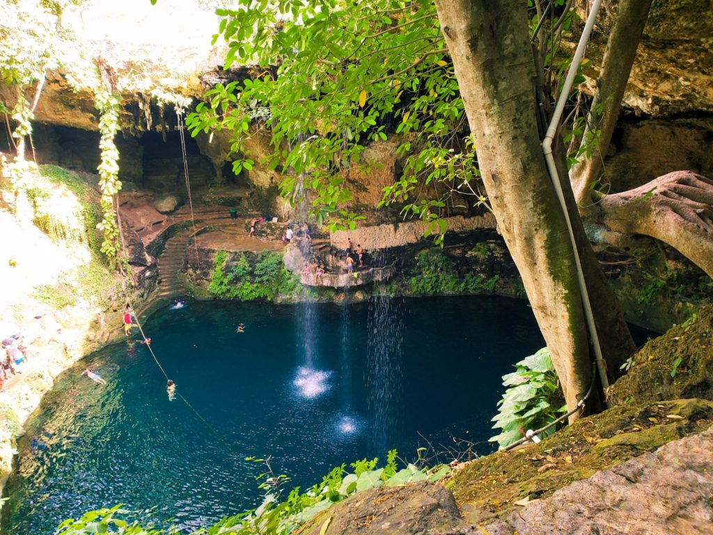 Cenotes: 1/15 Top Things To Do in Cancun, Mexico (Cancun Bucket List + 5 Day Itinerary) | Bucketlist Bri www.bucketlistbri.com #cancun #mexico #travel #bucketlist