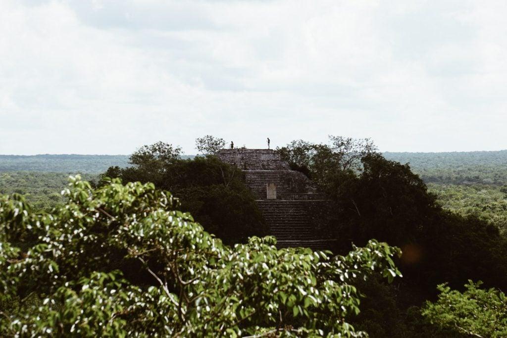 Calakmul Mayan Ruins: A Hidden Maya City Deep in the Jungle of Campeche, Mexico #calakmul #mexico #mexicotravel #mayanruins