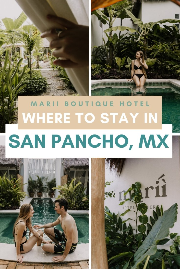 Staying at the Marii Hotel Costero in San Pancho, Mexico   Bucketlist Bri #mexico #travel #hotelreview #hotel #tropical