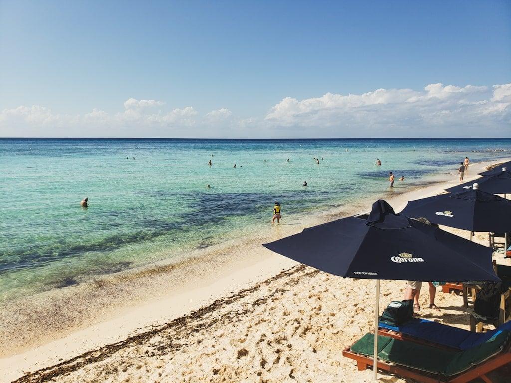Playa Palancar in Cozumel Mexico