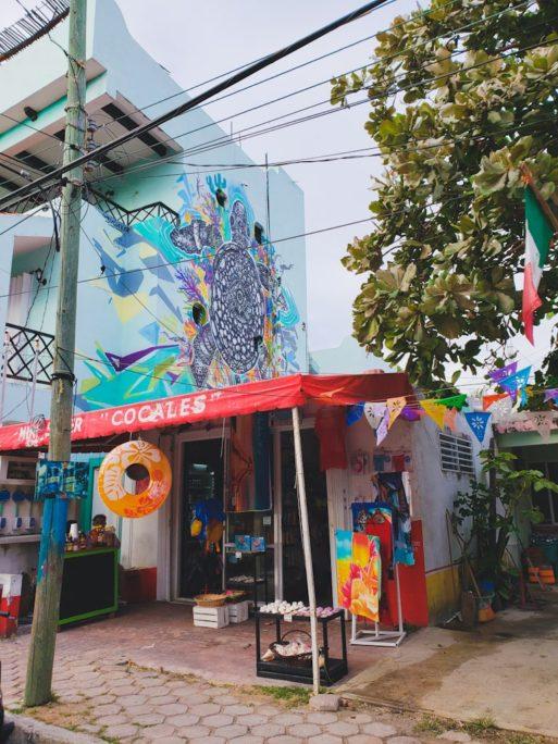isla mujeres wall art