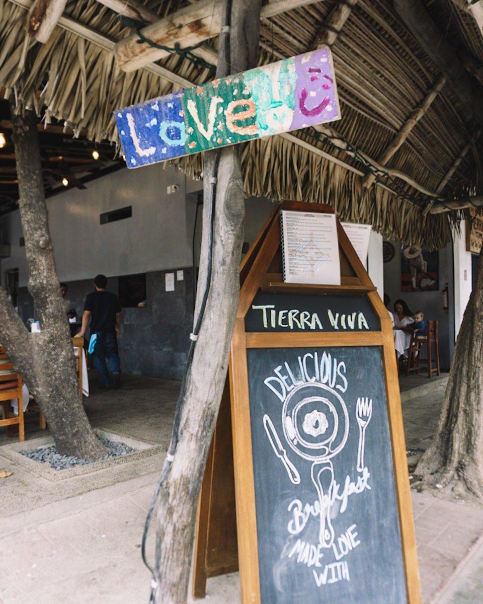 Tierra Viva restaurant in Sayulita Mexico