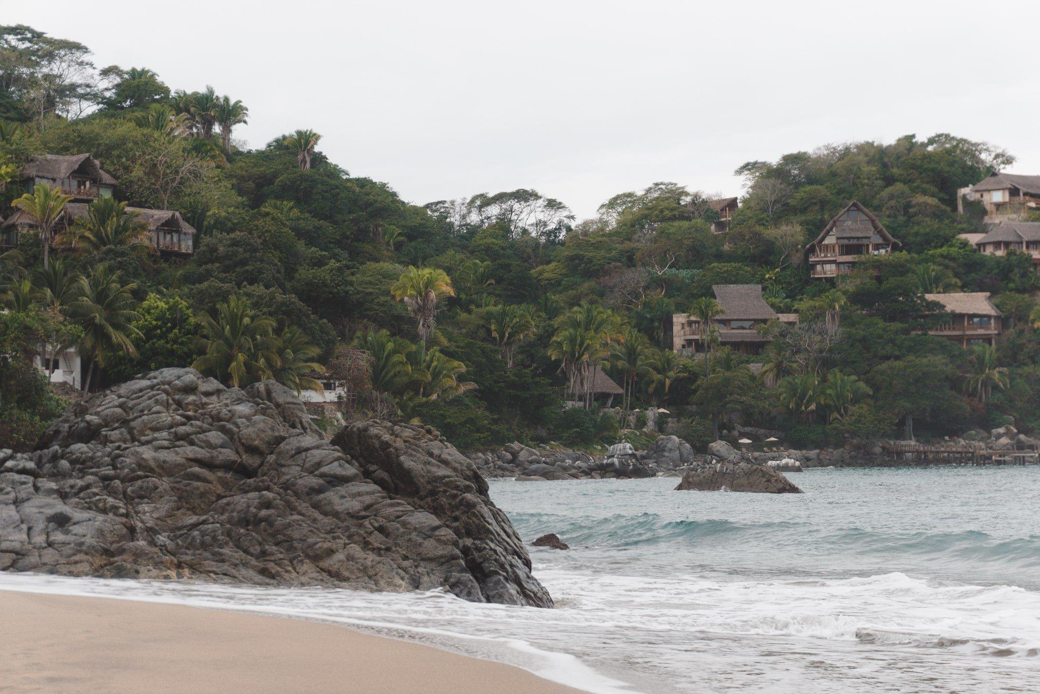 Playa De Los Muertos Sayulita Mexico