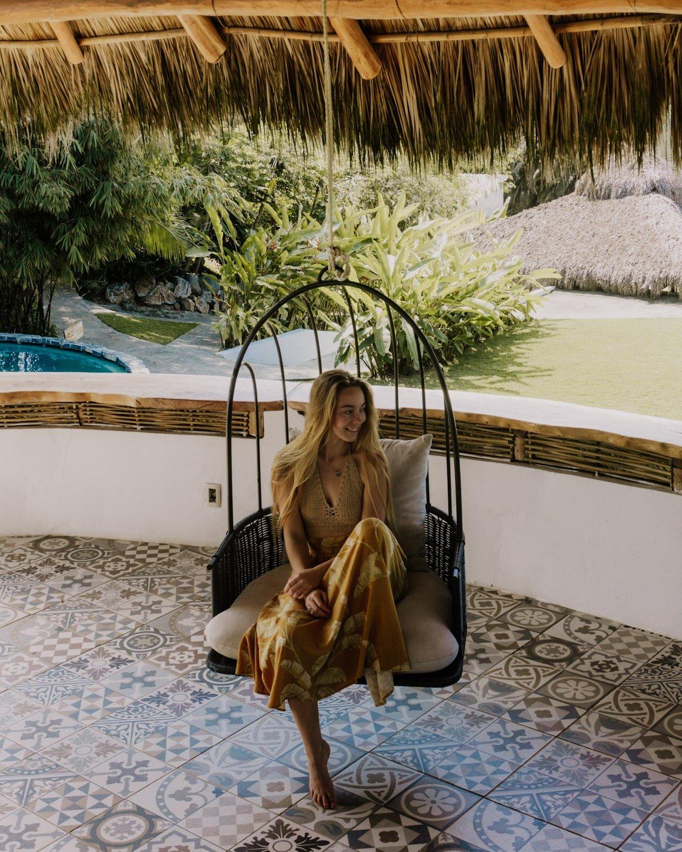 Tropical vibes women on swing   Maraica San Pancho   Bucketlist Bri