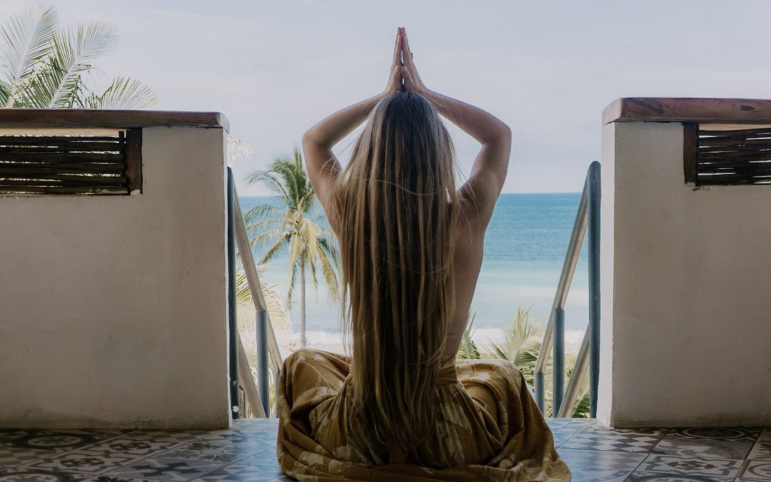 Checking in at the Eco + Chic Maraica Hotel in San Pancho