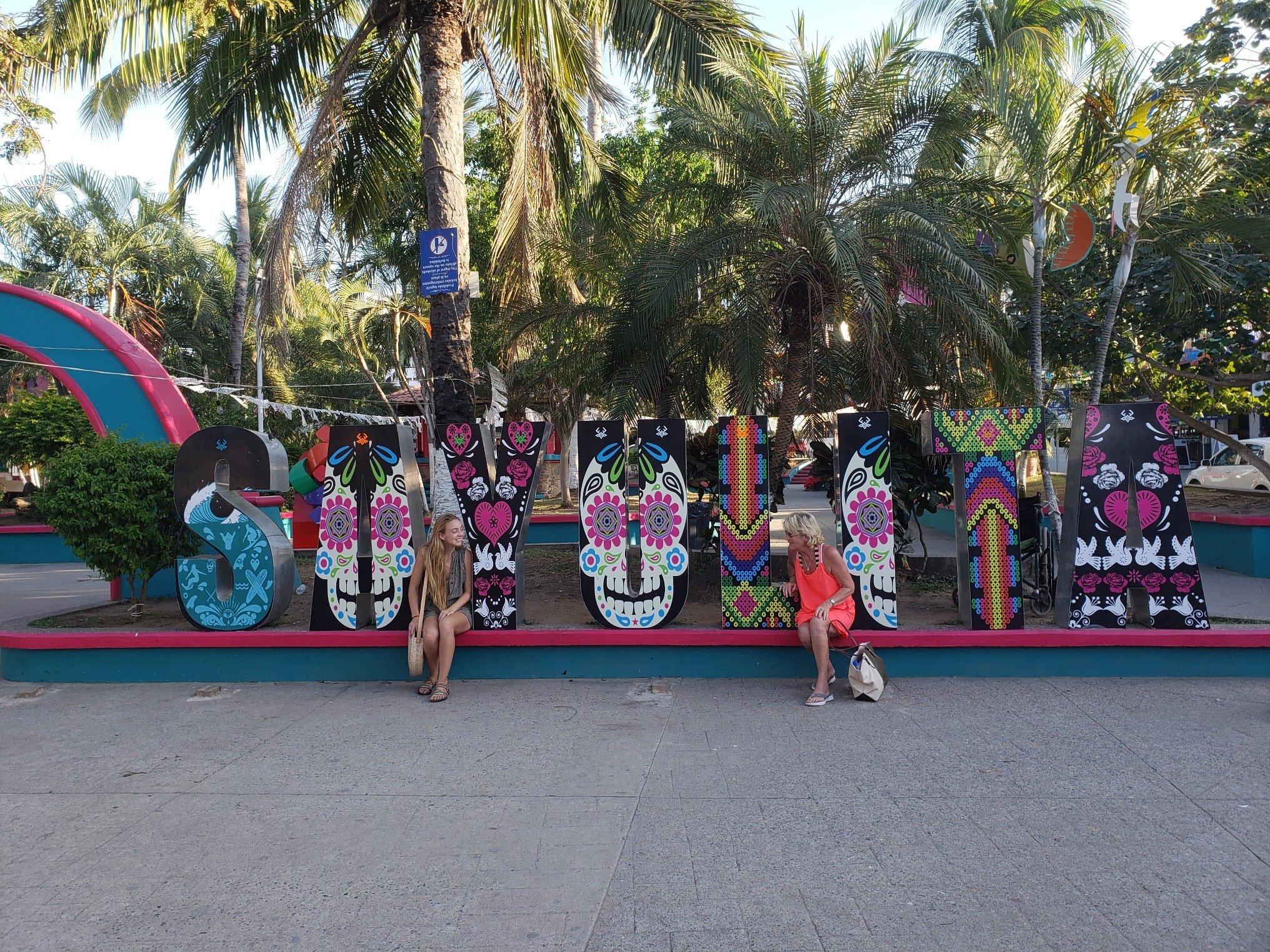 La Plaza Principal in Sayulita, Mexico