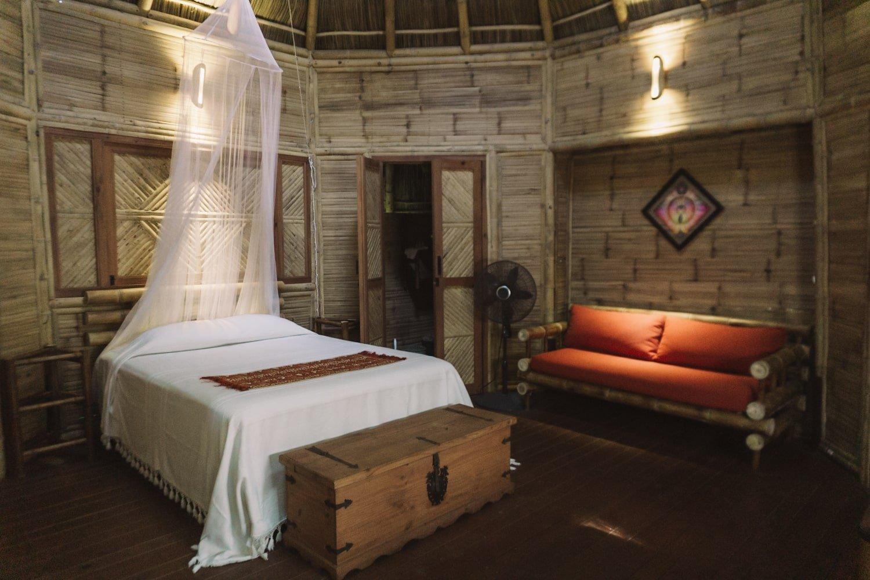 Eco Cabin 1 @ Aldea Bamboo in San Pancho, Mexico