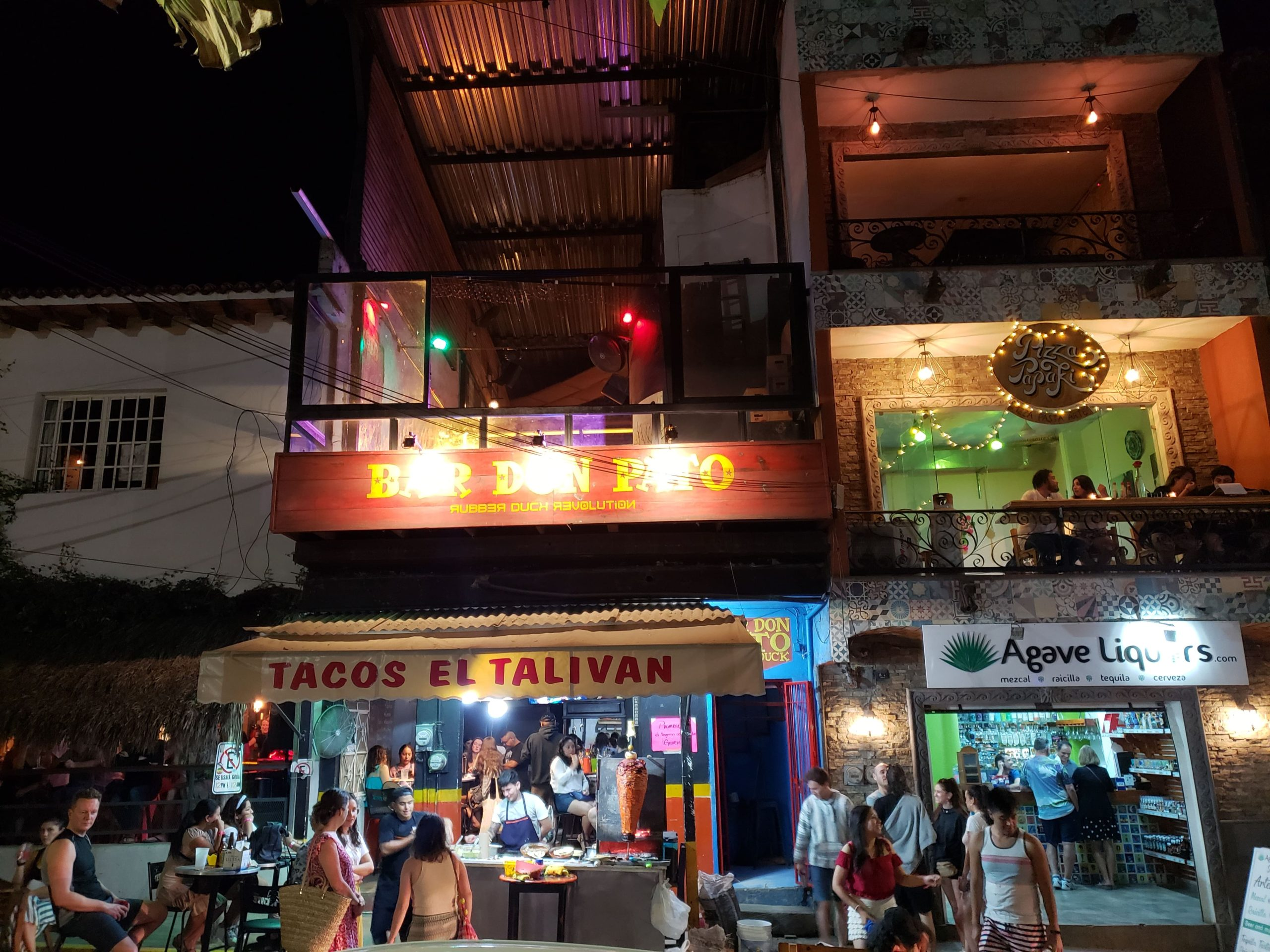 Don Pato's in Sayulita Mexico