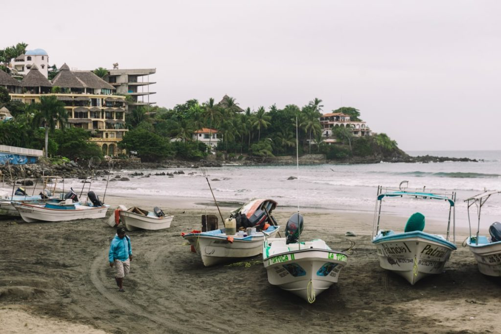 Fishing in Sayulita Mexico