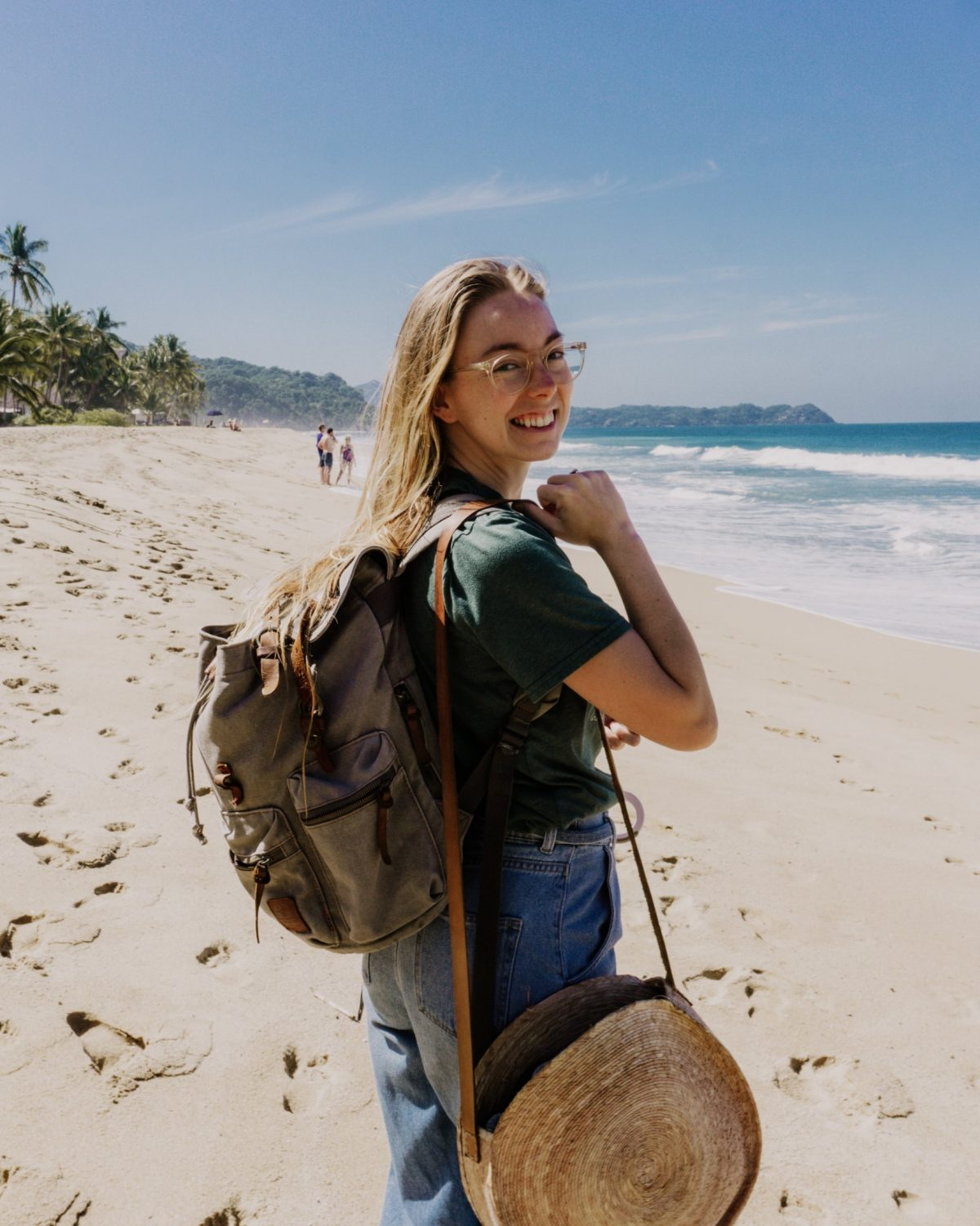 camera bag travel backpack | how to become a digital nomad