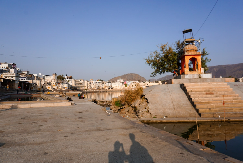 pushkar lake in pushkar rajasthan, india