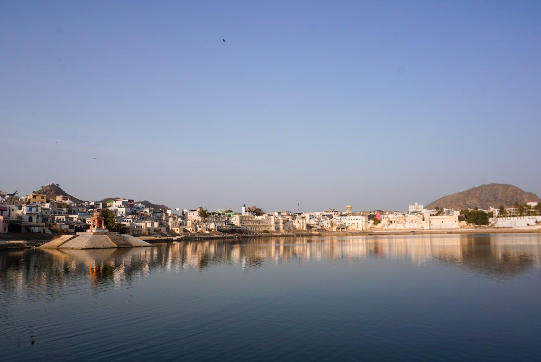 pushkar lake at sunrise | rajasthan, india