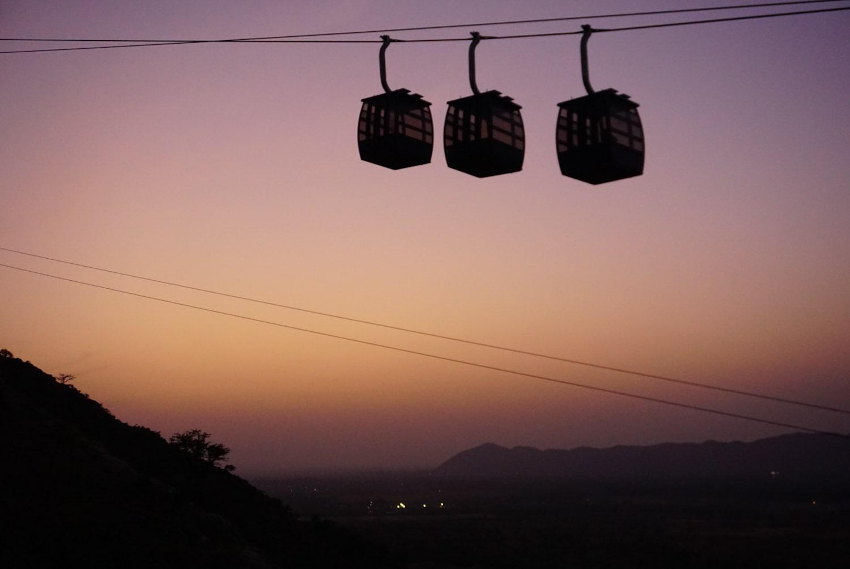 savitri mata temple cable car pushkar