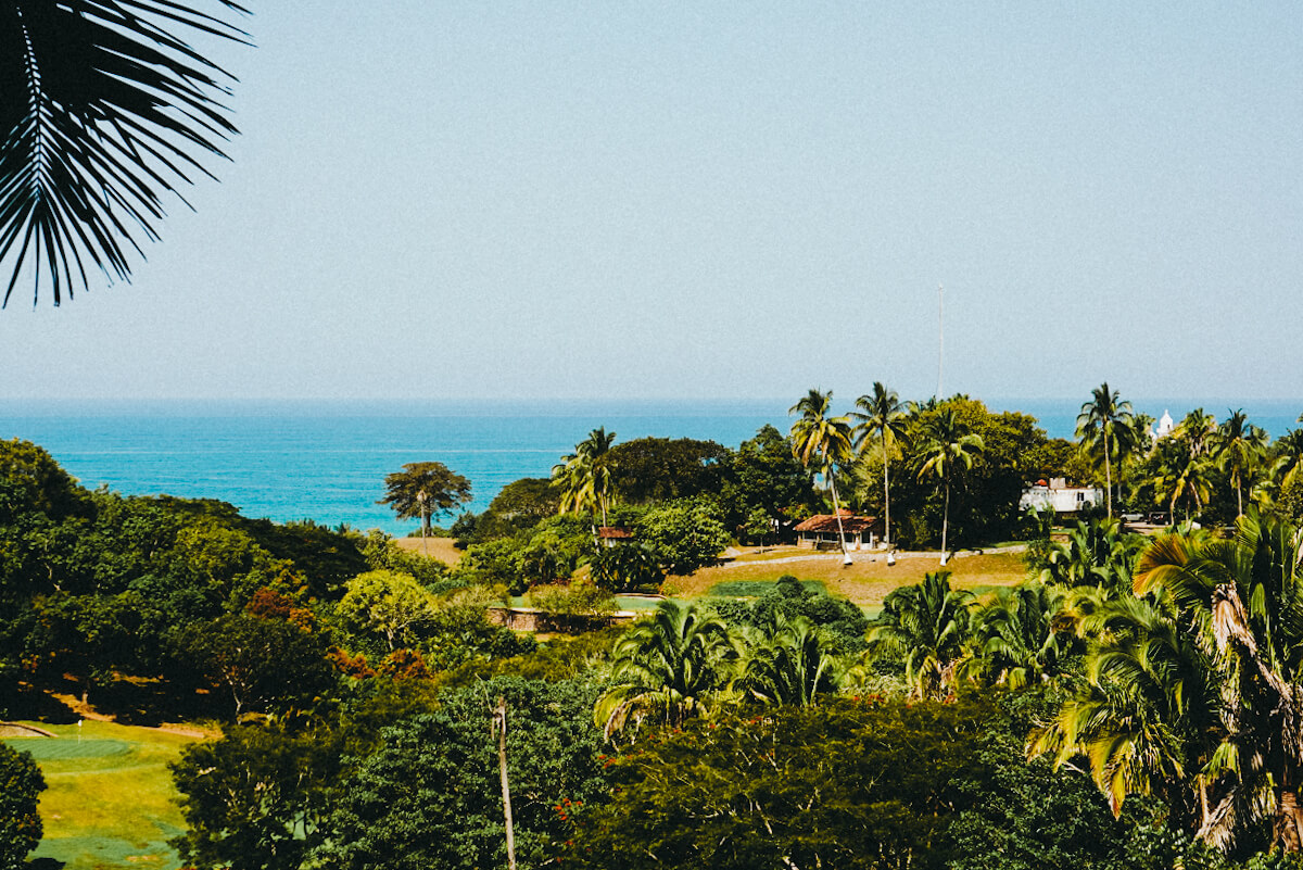 san pancho ocean and jungle view