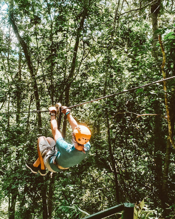 ziplining in puerto vallarta, mexico