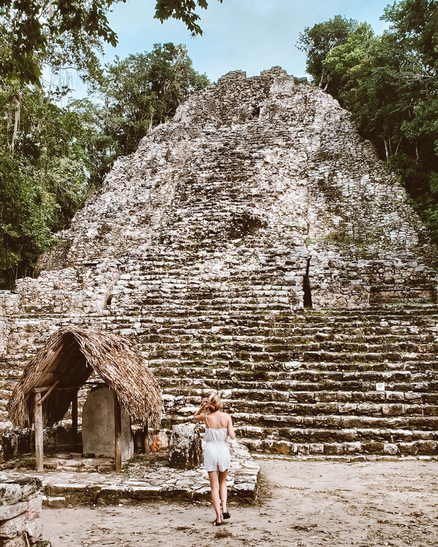 coba mayan pyramid