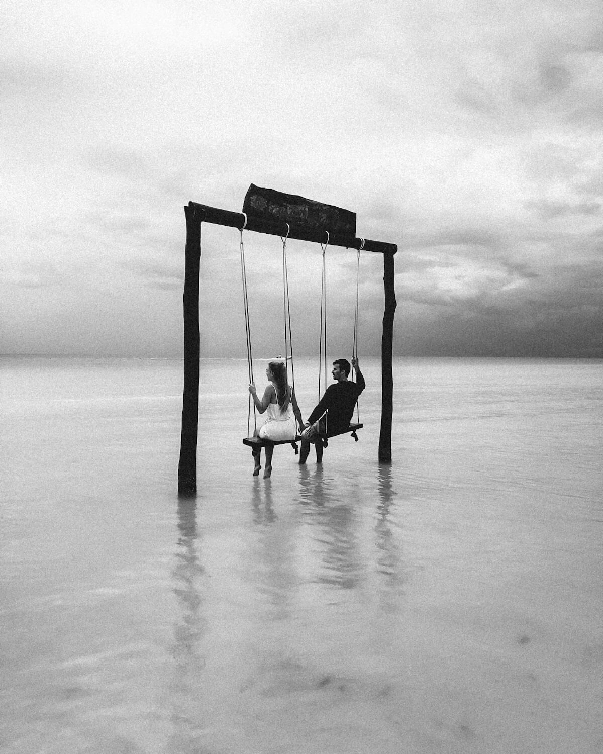 holbox swings mexico
