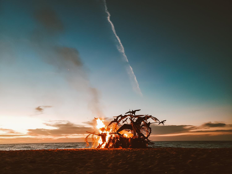 Lady Coco Burning Man in Lo de Marcos
