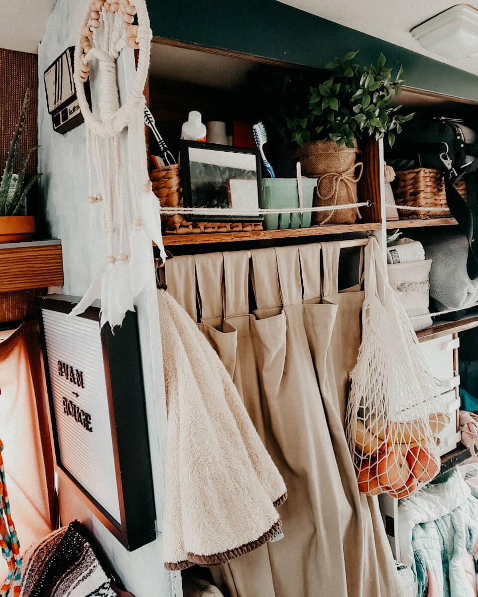 van life essentials - organic fruit mesh bag!