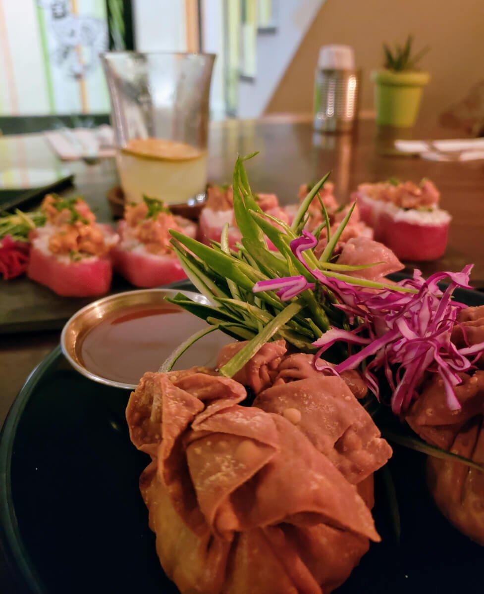 eating at el conejo in Sayulita Mexico