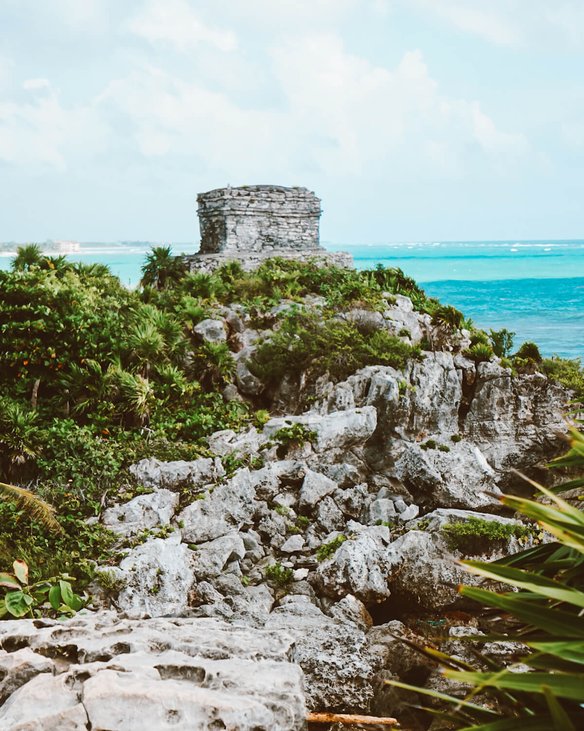 tulum mayan ruins in the yucatan peninsula