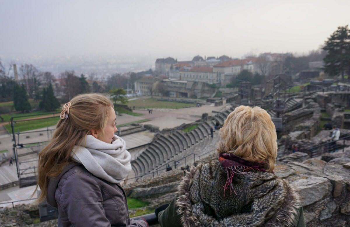 Gallo Roman Amphitheatre Lyon France