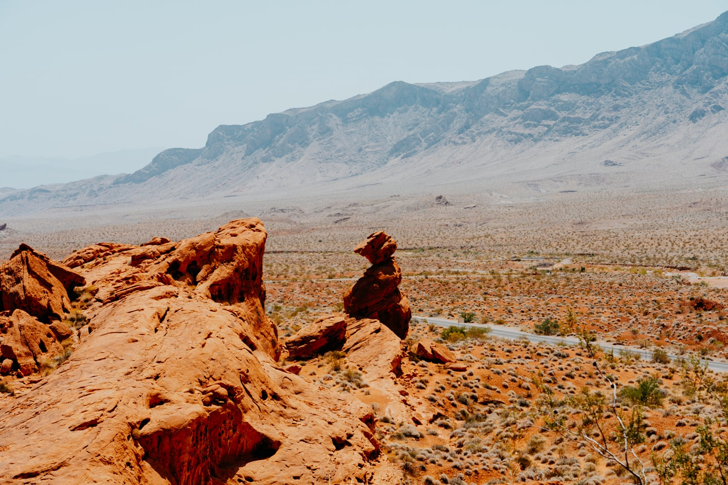 Balanced Rock - Valley of Fire