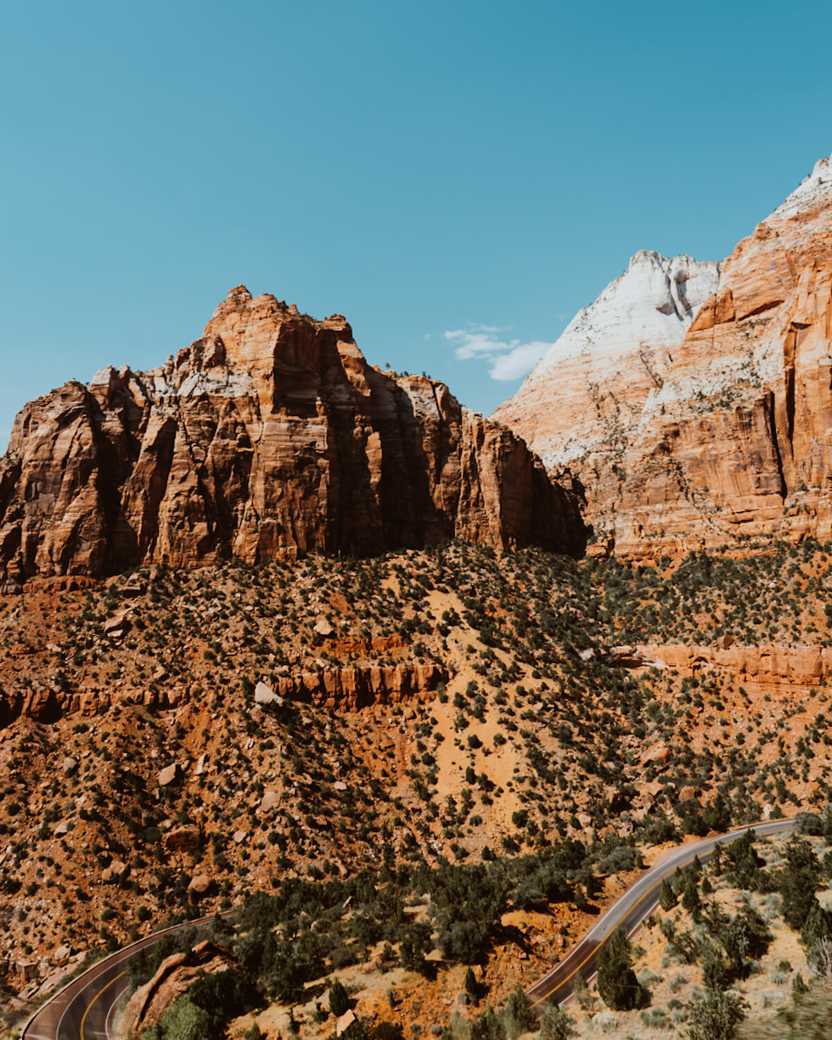 Zion National Park's scenic overlooks