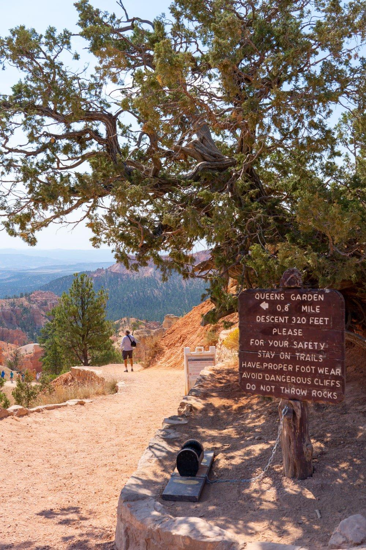 Queen's Garden Trail - Bryce Canyon National Park