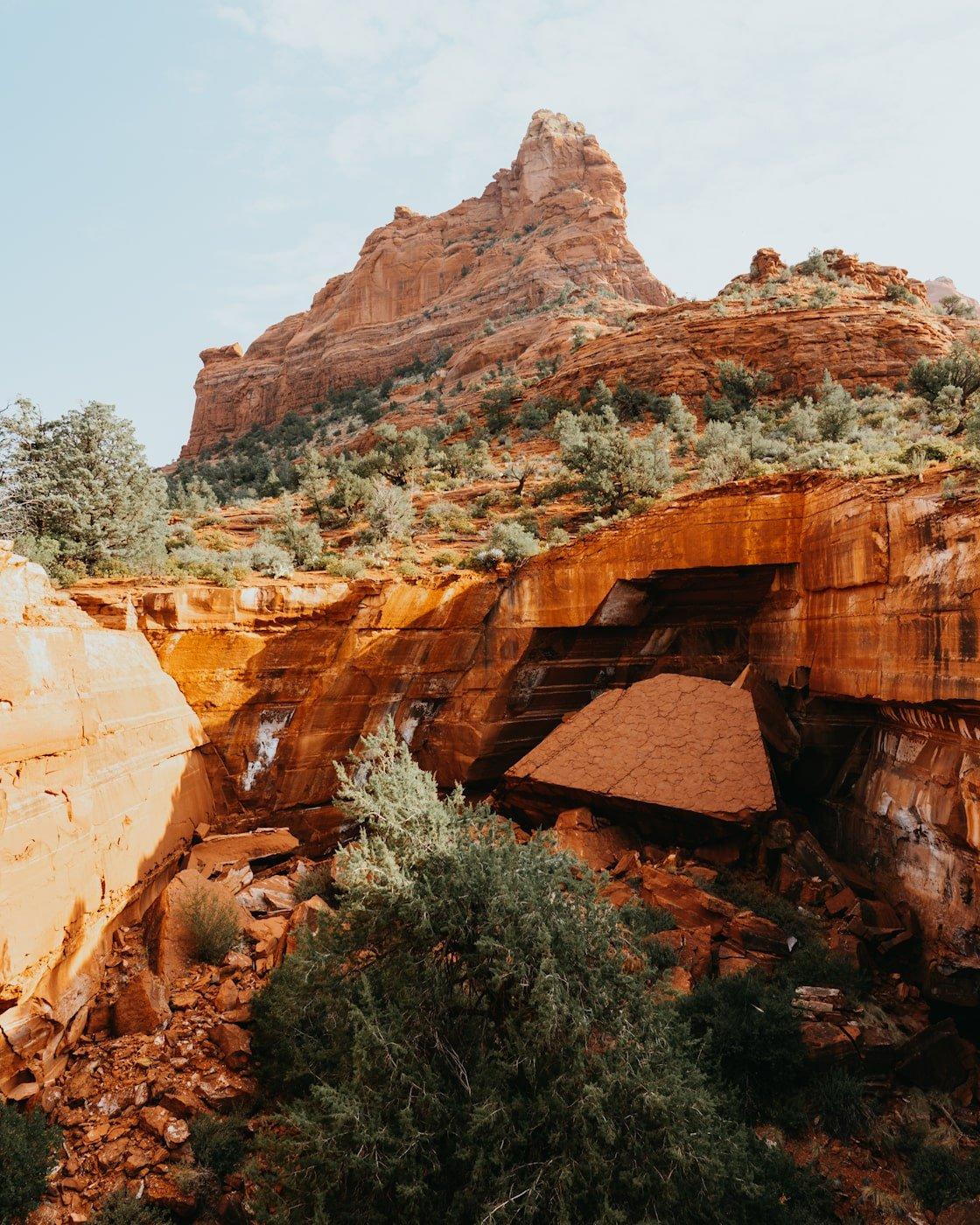 Devil's Kitchen Sinkhole via Solider Pass Trail Sedona