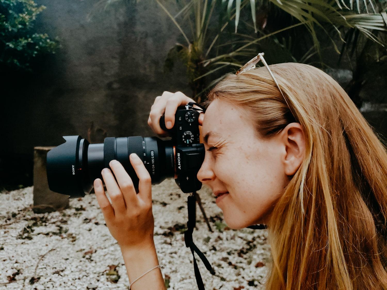 best travel blogger camera lens sony a7ii