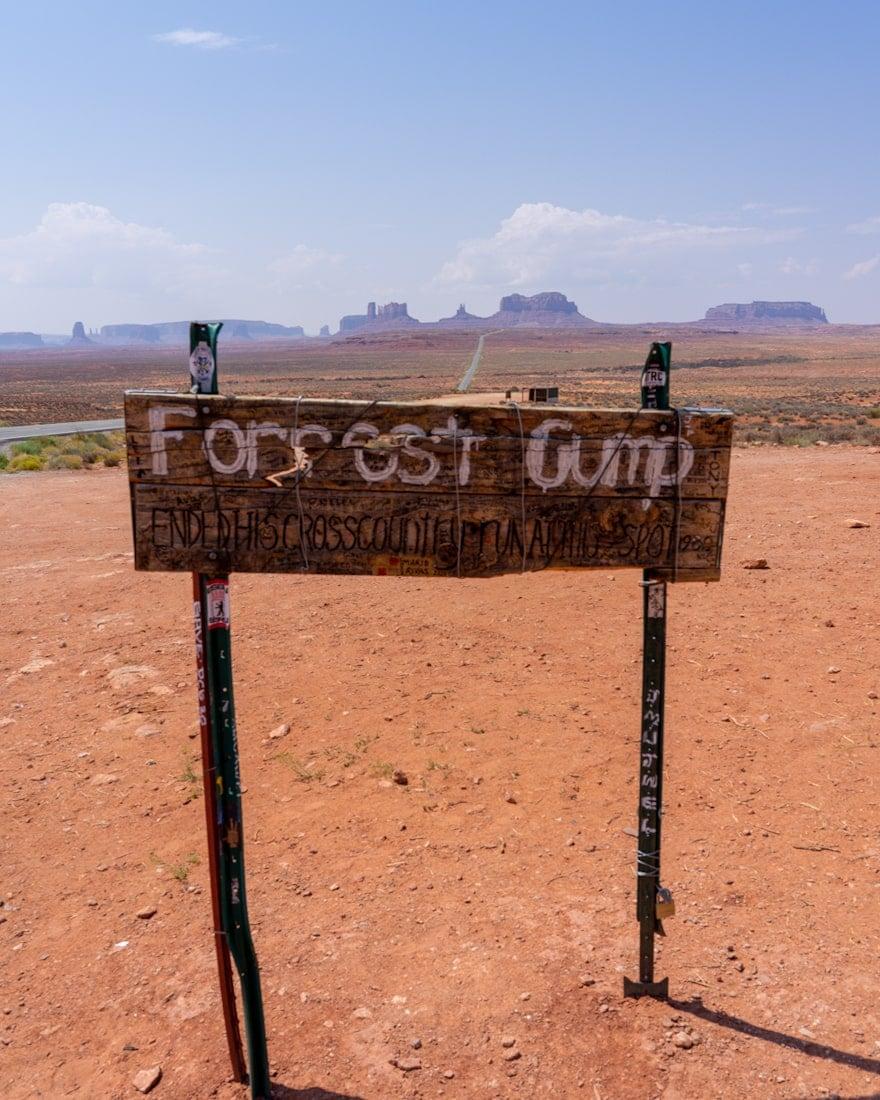 Forrest Gump Point